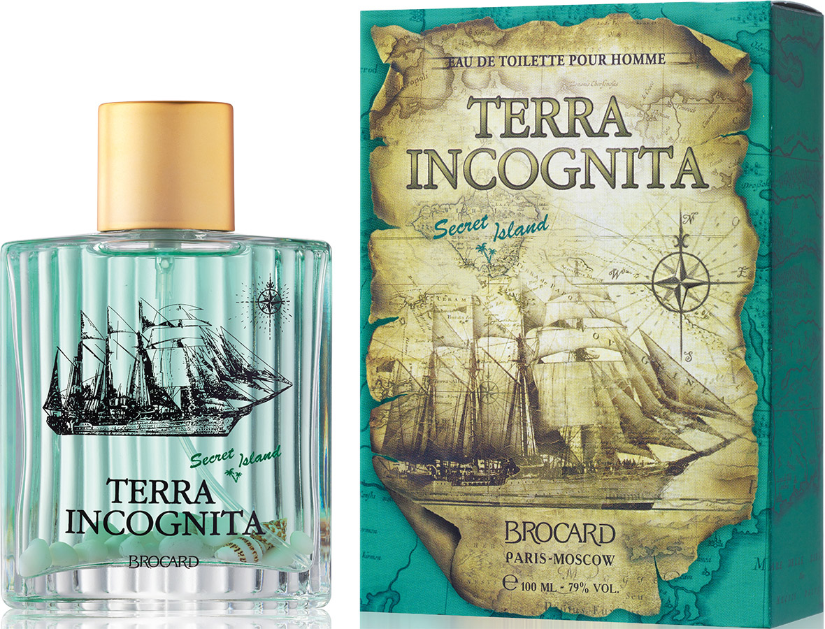 Brocard Terra Incognita Secret Island