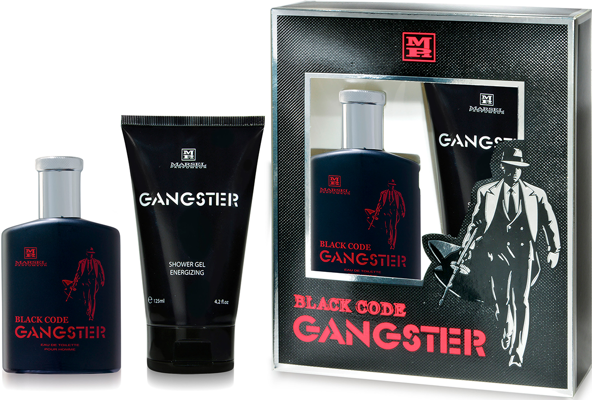 Marsel Parfumeur. Набор Gangster Black Code
